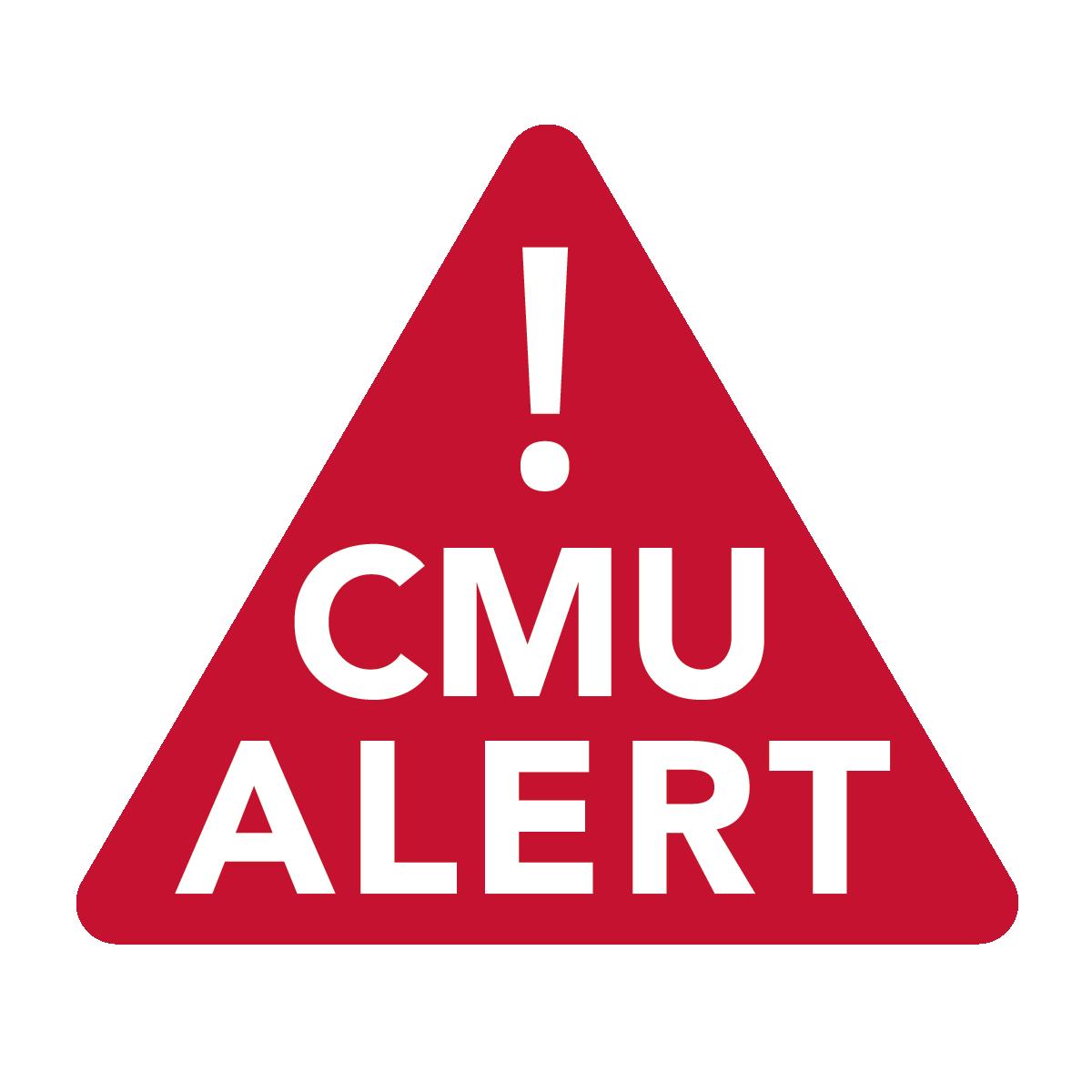 CMU Alert - CMU-Alert Emergency Notification System