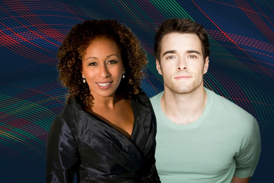 Image of members of Tamara Tunie and Core Cott