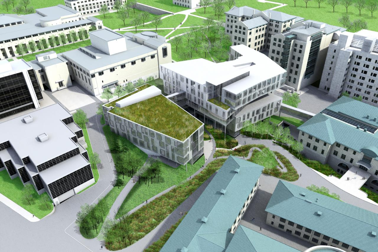 University unveils plans for new gates center for computer for New building design plan