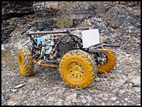 Mine mapping robot