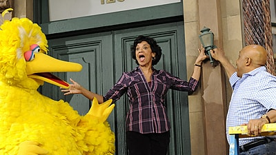 Sonia Manzano & Big Bird