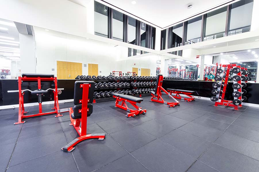 Fitness center jared l cohon university