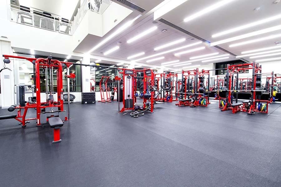 Fitness center jared l. cohon university center carnegie mellon