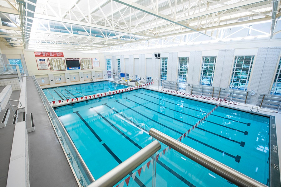 Swimming Diving Pool Jared L Cohon University Center
