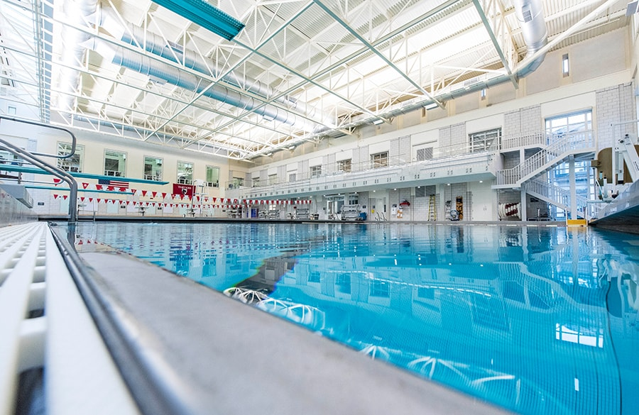 Swimming Diving Pool Jared L Cohon University Center Carnegie Mellon University