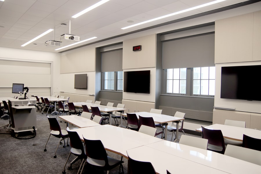 Transformed Classroom Spaces Computing Services Carnegie Mellon University