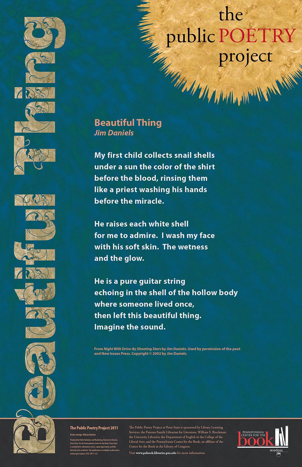 jim daniels poetry essay