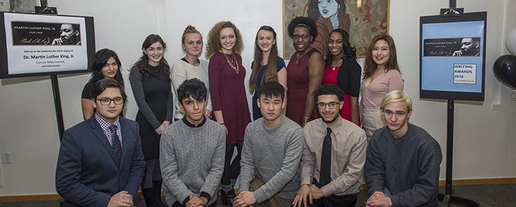 cmu martin luther king essay contest Seventeen pittsburgh-area high school and college students were recognized for their poetry and prose at carnegie mellon university's 2016 martin luther king.