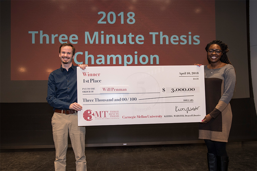 Will penman takes home first place peoples choice award at three will penman takes home first place peoples choice award at three minute thesis competition m4hsunfo