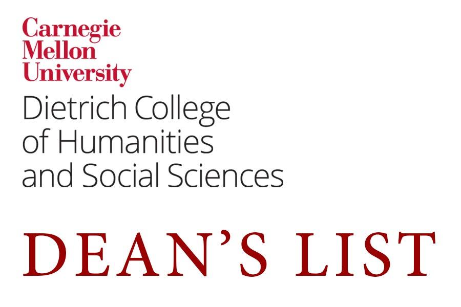 Fall 2018 Dean's List Announced - Dietrich College of