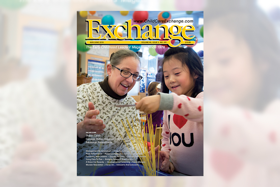 Children\'s School and Sharon Carver Featured in Exchange Magazine ...