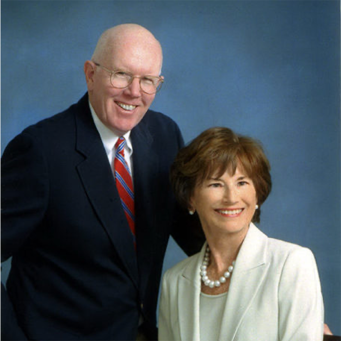 Dan's son-in-law and daugher, Jerry and Marilyn Bracken, both alumni