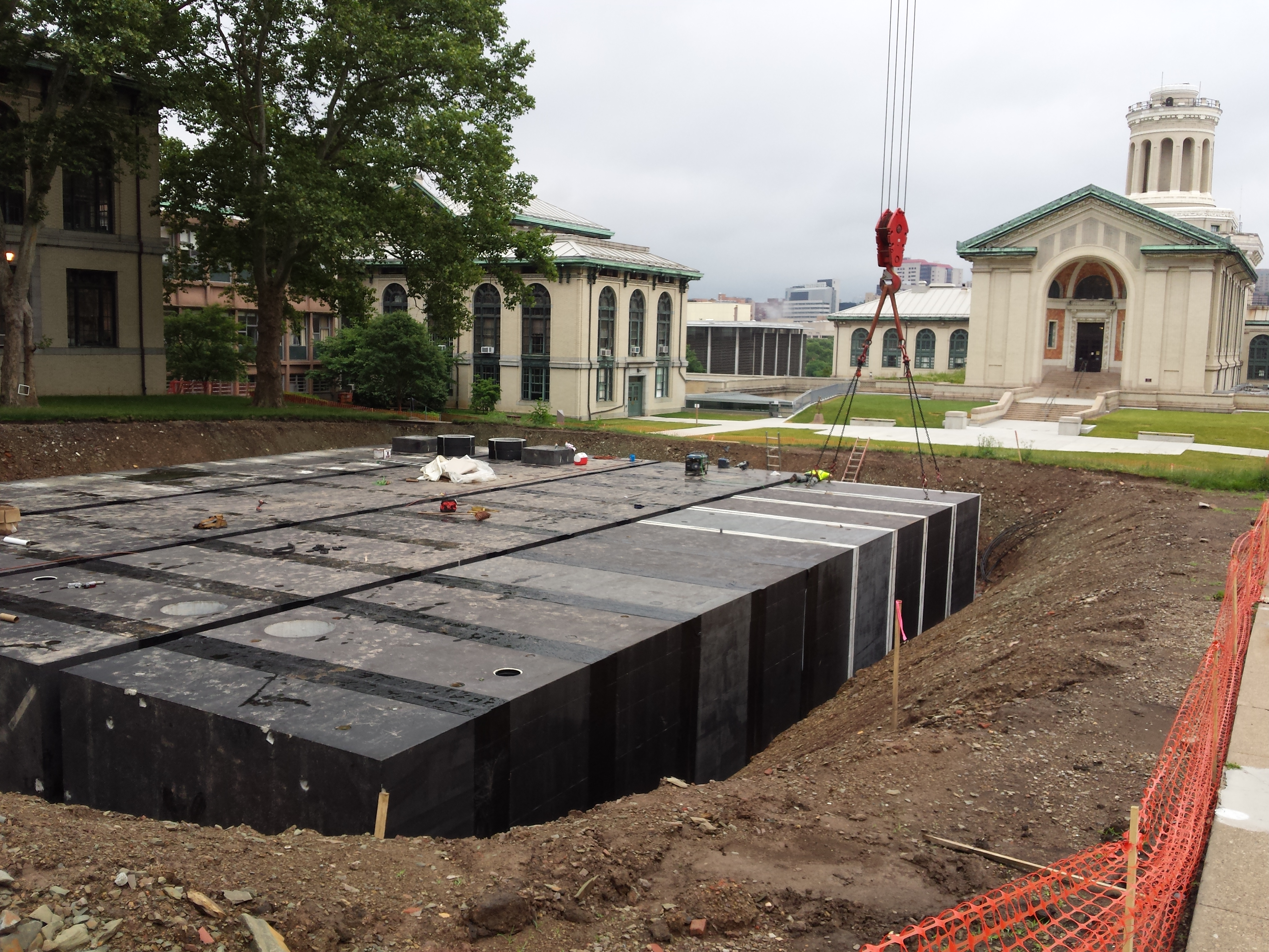 Stormwater Management Environment At Cmu Carnegie
