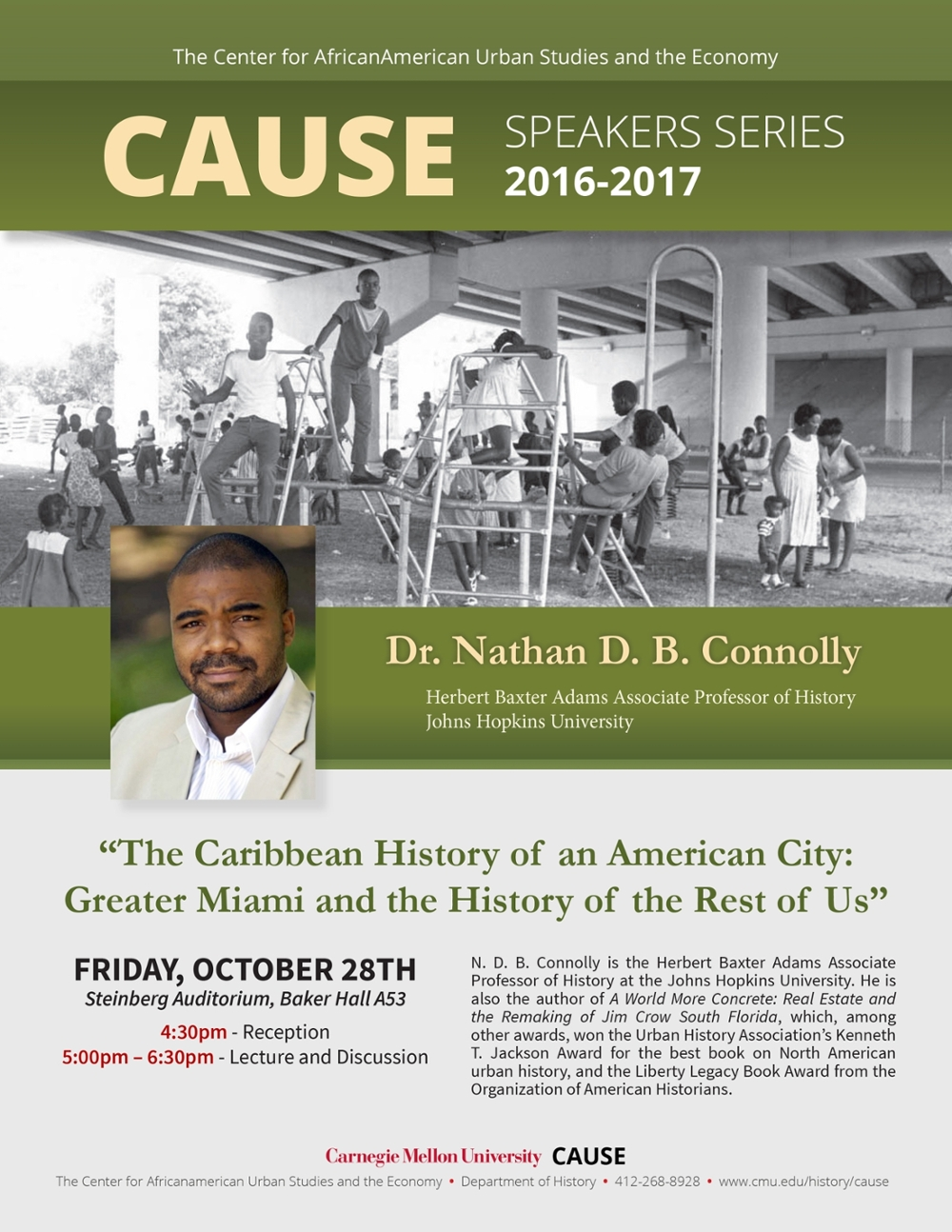Nathan Connolly - Center for Africanamerican Urban Studies