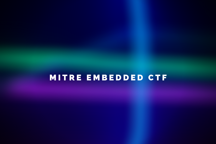 CMU places second in MITRE Embedded CTF - Information Networking