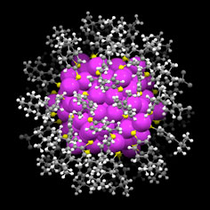 structure of gold nanoparticle