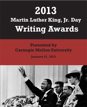 mlk essay contest 2014 Each year, the martin luther king, jr essay contest invites participants to reflect   2014 first prize faculty - sarah gridley, assistant professor of english staff.