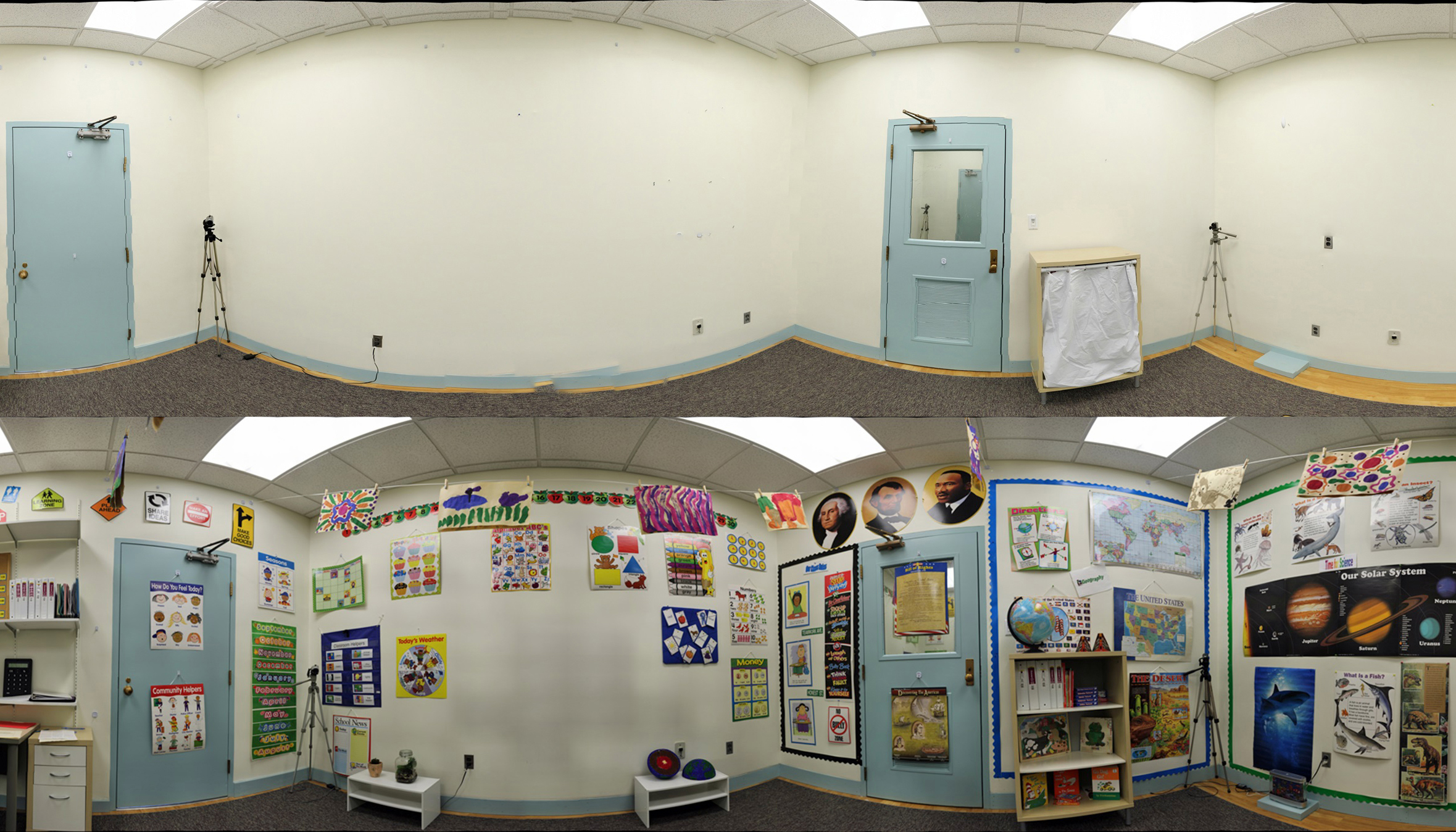 Classroom Design Research ~ Press release heavily decorated classrooms disrupt