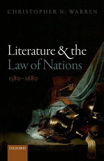 book cover of literature and the law of nations