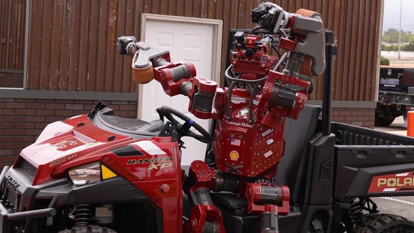 Robot Finishes Third In Darpa Robotics Challenge