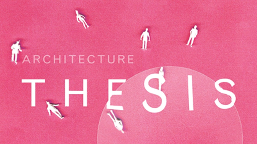 Miller Gallery Hosts Architecture Thesis Exhibit, April 21 – 23