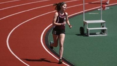 Jillian Jaycox on Track