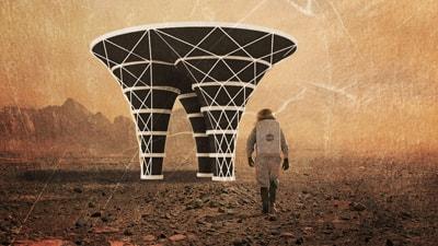 Mars rendering