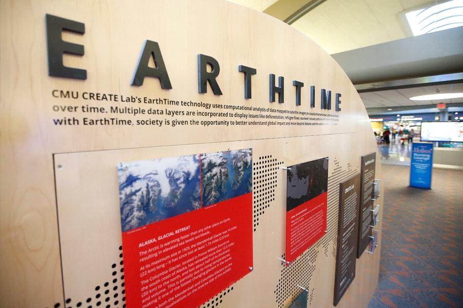 Image of the Earthtime Exhibit