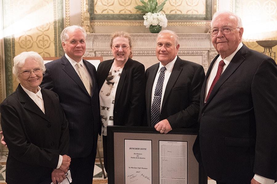 Image of Dorothy Jackovic; Denis Colwell, Karen Emmerich, Bill Doring; Joseph Jackovic