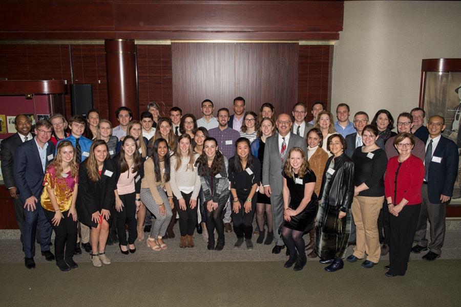 Group photo of student athletes