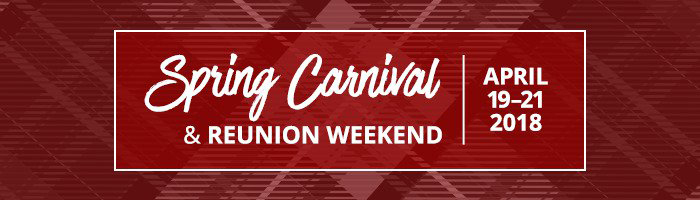 Spring Carnival and Reunions logo