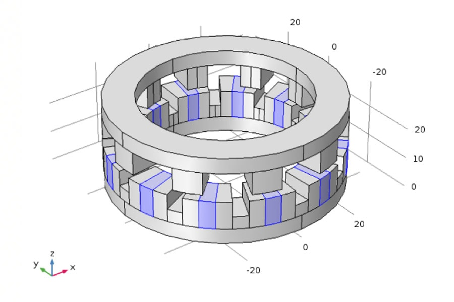 Ilration Of A Magnetic Motor