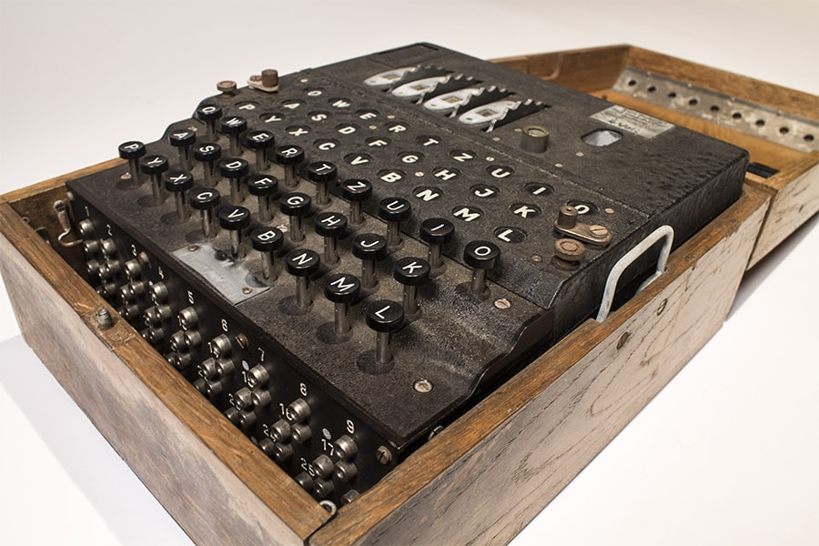 WWII Enigma Machines Among Computing Treasures Added to ...