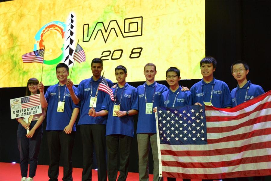 U S  Team Takes First in International Mathematical Olympiad