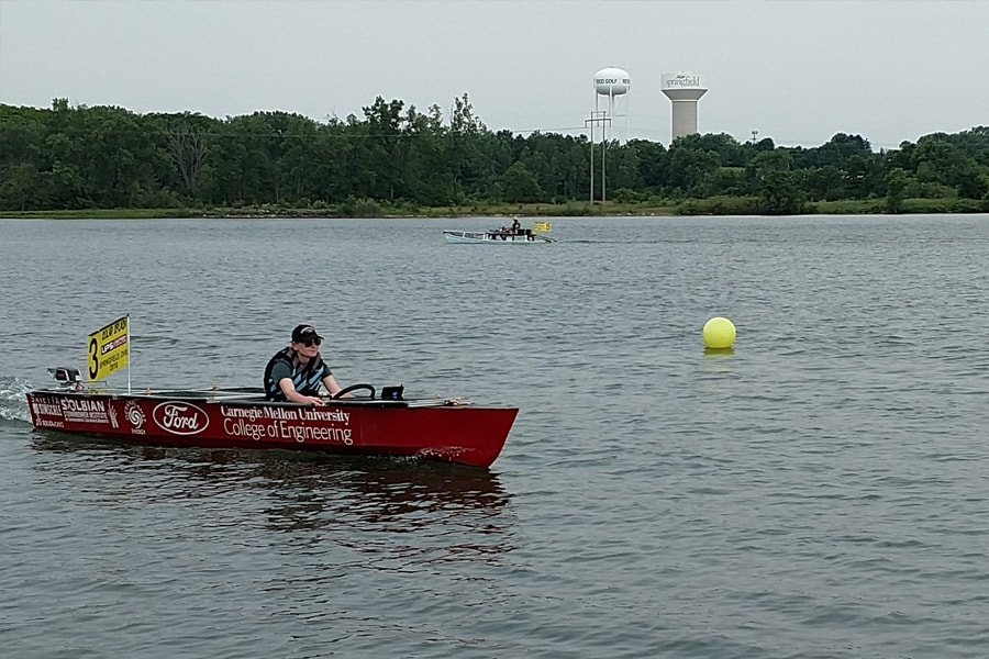 solar boat racing team gives students an energizing experience