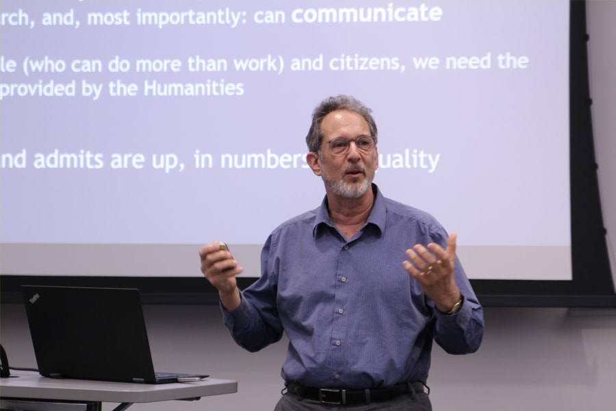 Town Hall Gets to the Heart of Humanities at CMU