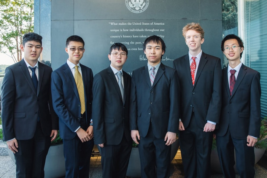 Image of U.S. mathematics team