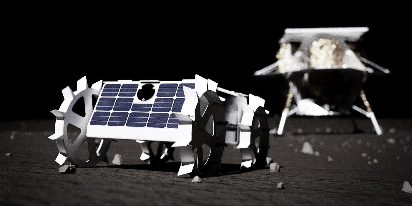 [Artemis] Contrats pour acheminer des CU sur la Lune (CLPS) Moon-robot-1400x700