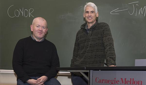 Conor o'callaghan and Jim Daniels