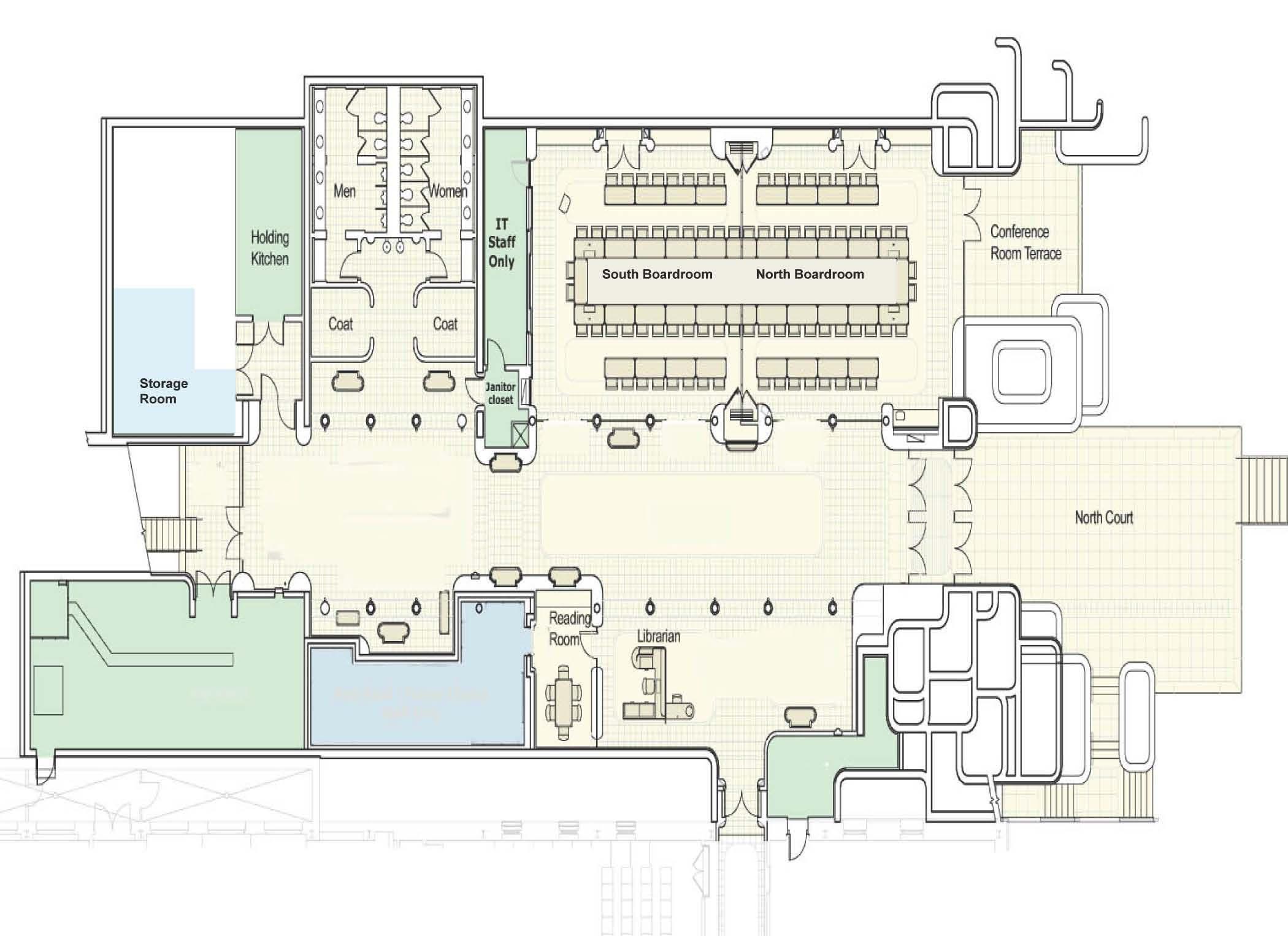 Floorplan posner center carnegie mellon university for Cmu floor plans
