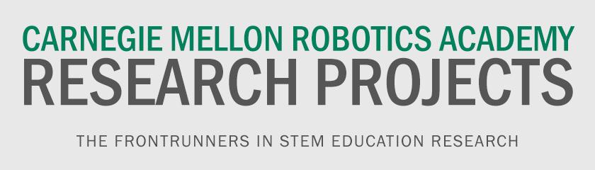 Robotics Academy Carnegie Mellon Robotics Academy Carnegie