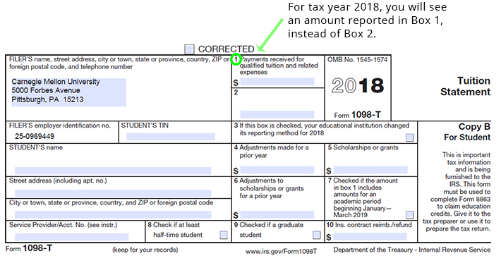 1098T-2018-change Tax Form Example on mortgage interest2019, statement for new construction, clip art, printable federal,