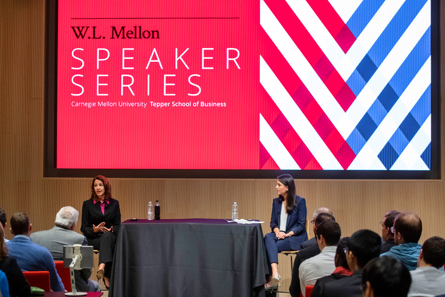 W L  Mellon Speaker Series: Northrop Grumman's Kathy Warden