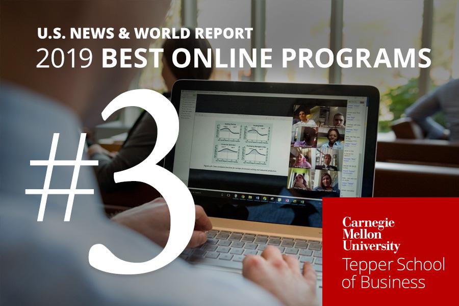 Tepper School Online MBA Ranked #3 in U S  News & World