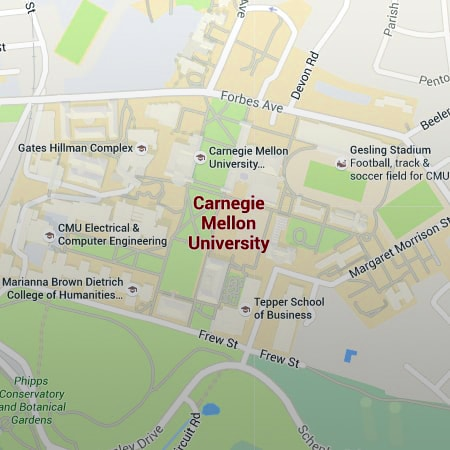 Maps, Parking and Transportation - CMU - Carnegie Mellon